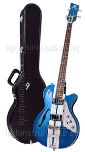 zur Detailansicht E-Bass - DUESENBERG STARPLAYER BASS - MIKE CAMPBELL LTD + Custom Line Case