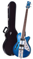 E-Bass - DUESENBERG STARPLAYER BASS - MIKE CAMPBELL LTD + Custom Line Case