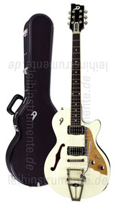 zur Detailansicht E-Gitarre DUESENBERG STARPLAYER TV - Vintage White (2016) + Custom Line Case