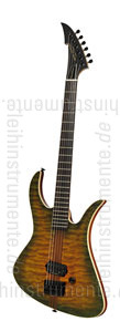 zur Detailansicht E-Gitarre MGH GUITARS Blizzard Beast Deluxe - green amber burst + Softcase - made in Germany