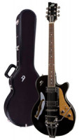 E-Gitarre DUESENBERG STARPLAYER TV - BLACK + Custom Line Case