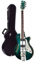 E-Gitarre DUESENBERG STARPLAYER TV ALLIANCE - MIKE CAMPBELL 40th + Custom Line Case