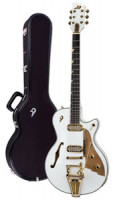 E-Gitarre DUESENBERG STARPLAYER TV PHONIC - Venetian White + Custom Line Case