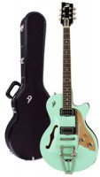 E-Gitarre DUESENBERG STARPLAYER TV - SURF GREEN + Custom Line Case