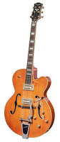 Vollresonanz Jazz-Gitarre - PEERLESS TONEMASTER PLAYER Orange + Koffer