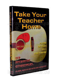 zur Detailansicht Gitarrenkurs TAKE YOUR TEACHER HOME - Playing the Blues, Vol1: Easy Comping - PC CD