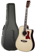 Western-Gitarre TANGLEWOOD TW1000/H SRC E - Heritage Series - Fishman Presys Blend - Cutaway - vollmassiv + Hardcase
